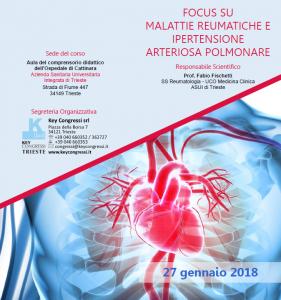 Focus su Malattie Reumatiche e Ipertensione Arteriosa Polmonare @ ASUITS - Ospedale di Cattinara | Trieste | Friuli-Venezia Giulia | Italia