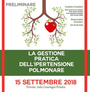 La Gestione Pratica dell'Ipertensione Polmonare @ Sala Convegni Friulia | Trieste | Friuli-Venezia Giulia | Italia