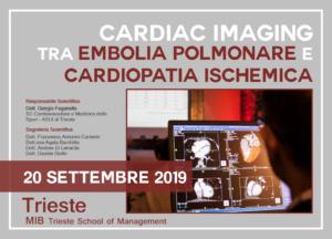 Cardiac Imaging tra Embolia Polmonare e Cardiopatia Ischemica @ MIB Trieste School of Management
