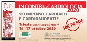 Incontri in Cardiologia 2020, Scompenso Cardiaco e Cardiomiopatie @ Molo IV