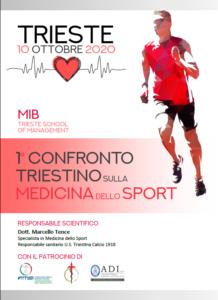 1° Confronto Triestino sulla Medicina dello Sport @ MIB Trieste School of Management